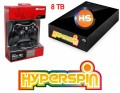 8TB-02 Preconfigured Hyperspin Hard Drive EXTERNAL with Microsoft Controller & Receiver